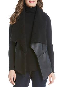 Karen Kane Faux Fur Vest
