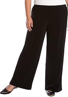 Karen Kane Plus Size Crepe Pant