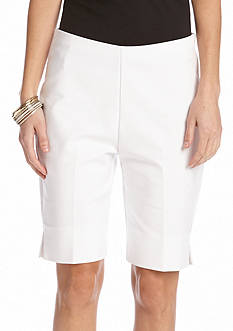 Karen Kane Side Slit Shorts