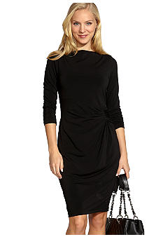 Karen Kane Cosmopolitan Travel Shirred Dress
