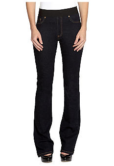 Karen Kane Cosmopolitan Knit Band Boot Cut Jean