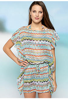 Jessica Simpson Gurneys Tunic Coverup