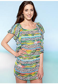 Jessica Simpson Rock Tunic Coverup