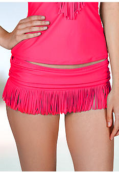 Jessica Simpson Fringe Swim Skirt