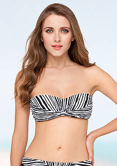 Profile by Gottex Striped Bandeau