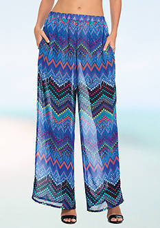 Profile by Gottex Chevron Cover Up Pant