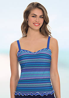 Profile by Gottex Blue Lagoon D Cup Tankini