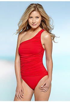 La Blanca Samba One Shoulder One Piece