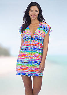 La Blanca Full Spectrum Tunic Cover Up
