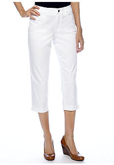 Madison Solid Crop Twill Pant