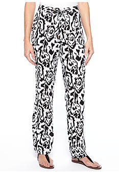Madison Graphic Linen Pant