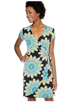 Madison Faux Wrap Dress