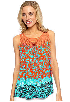 Madison Crochet Trim Tank