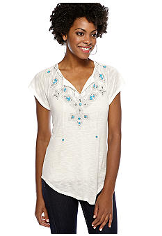 Madison Beaded Raglan Sleeve Top