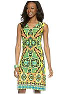 Madison Marquise Mix Printed Dress