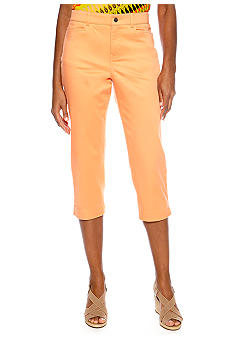 Madison Solid Twill Crop Pant