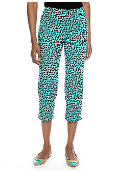 Madison Overlapping Dots Crop Pant