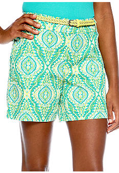 Madison Medallion Belted Short