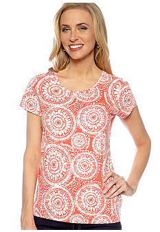 Madison Dotted Swirl Core Tee
