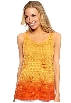 Madison Crochet Dip-Dye Tank