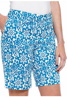 Madison Lace Print Bermuda Short