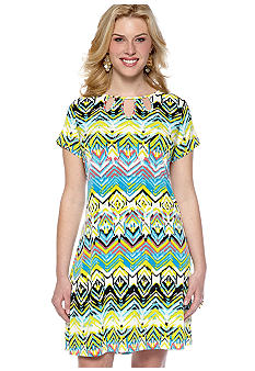 Madison Plus Size Cutout Dress