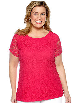 Madison Plus Size Lace Top
