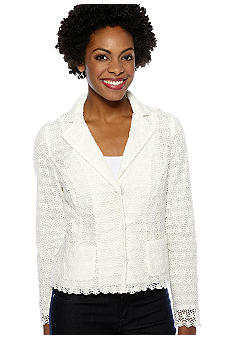 Madison Petite Lace Jacket