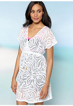 Kim Rogers Burnout Surplice Cover-Up