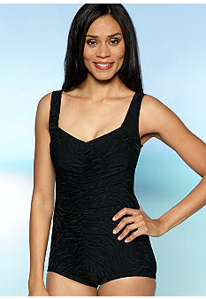 Maxine Animal Textured One Piece