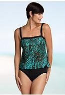 Maxine Animal Print One Piece Tankini