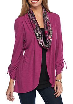 Kim Rogers Knit Scarf Top