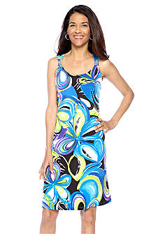 Kim Rogers Hardware Printed Dress