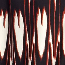 Knit Tops for Women: Ranch Inkdrop Kim Rogers Three-Quarter Sleeve Twin Print Cozy 2Fer