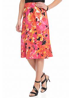 Kim Rogers Printed Skirt
