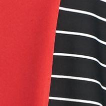 Kim Rogers Women Sale: Mercury Strand Kim Rogers Three Quarter Sleeve Striped Tie Front Shirt