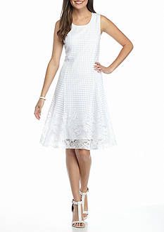 Kim Rogers Sleeveless Lace Dress