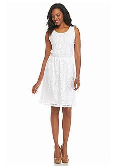 Kim Rogers Sleeveless Lace Dress