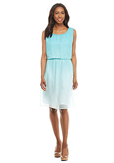 Kim Rogers Sleeveless Ombre Dress