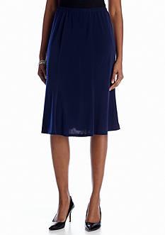 Kim Rogers Short Pull On Gored Skirt