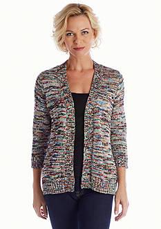 Kim Rogers® Space Dye Knit Cardigan