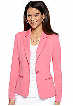Kim Rogers® Petite Blazer with Besom Pockets