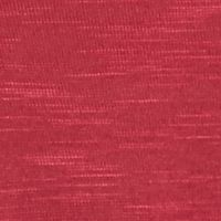 Kim Rogers Petite Clothing: Sunstain Red Kim Rogers Petite Three Quarter Roll-Tab Sleeve 3Fer