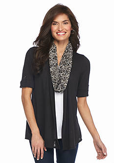 Kim Rogers Petite 3Fer Knit Top