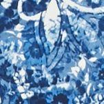 Petite Dresses: Blue Whiff Kim Rogers Petite Sleeveless V-Neck Godet Dress