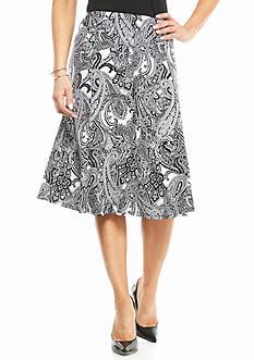 Kim Rogers Petite Gored Skirt