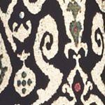 Kim Rogers Petites Sale: Noir Kenya Kim Rogers Petite Printed Border Pants