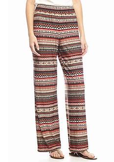 Kim Rogers Petite Stripe Pants