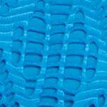 Petite Blouses: Blue Radiogram Kim Rogers Petite Short Sleeve Lace Top