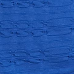 Kim Rogers® Petites Sale: Blue Popcorn Kim Rogers Petite Solid Pucker Knit Top